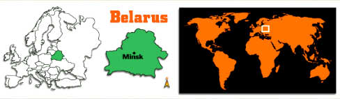 [ Belarus in the centre of Europe ]